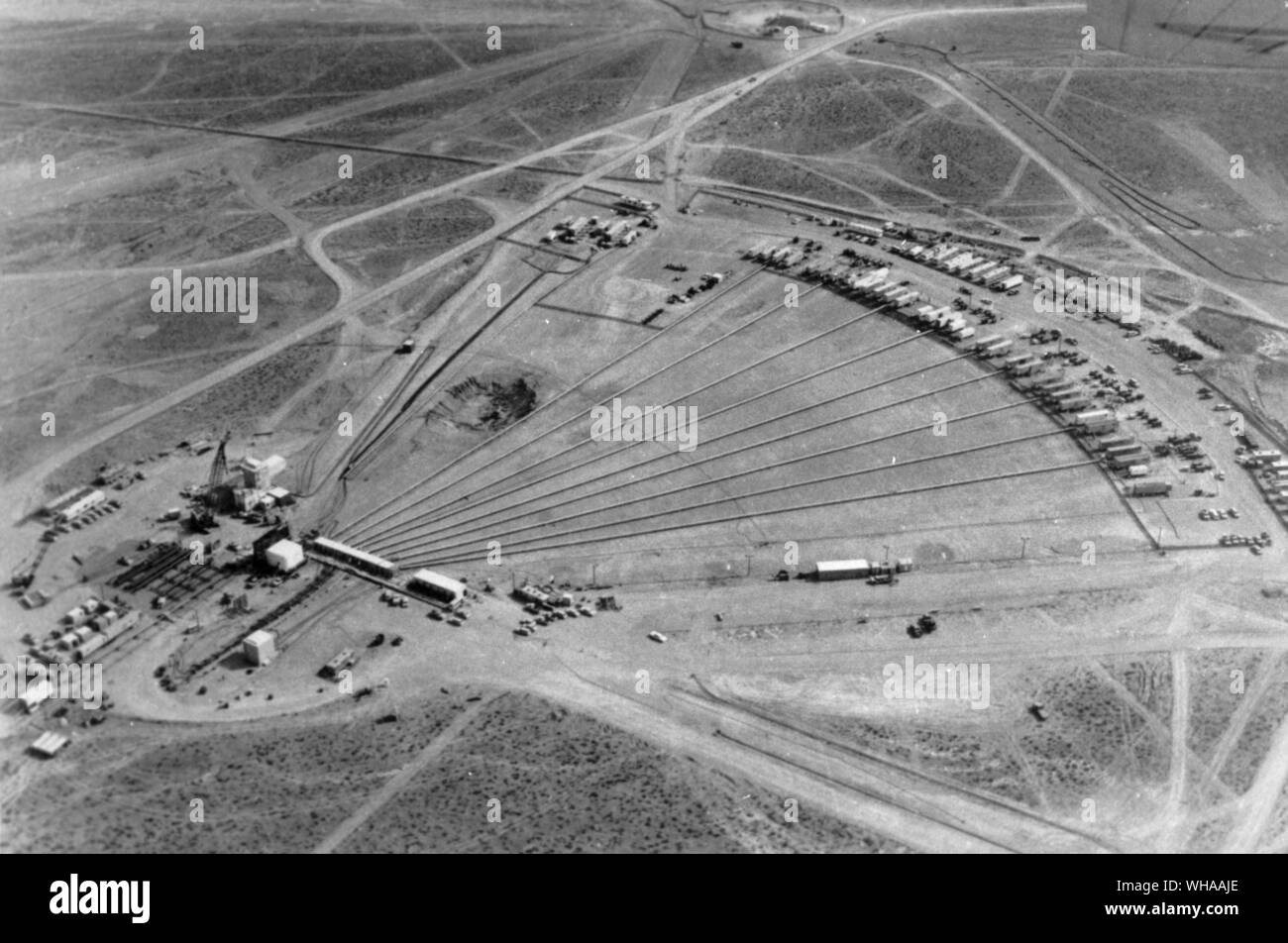 The Aec Nuclear Test Site In Nevada The Nevada Test Site Nts Is A Remote Site