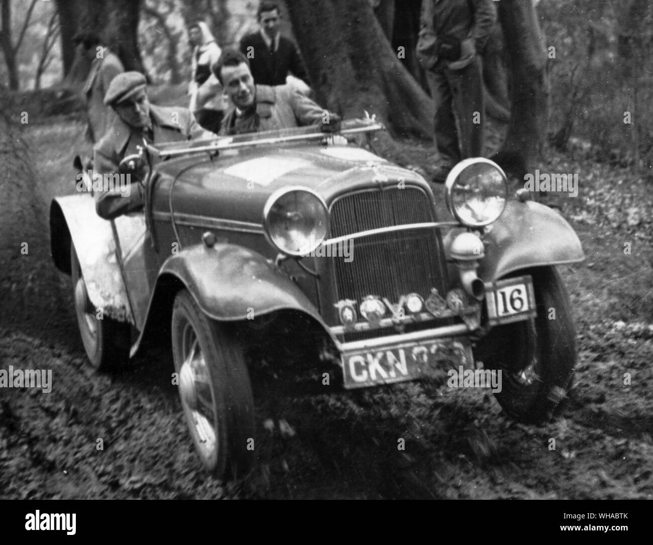 1936 Batten Special in a post war trial Stock Photo