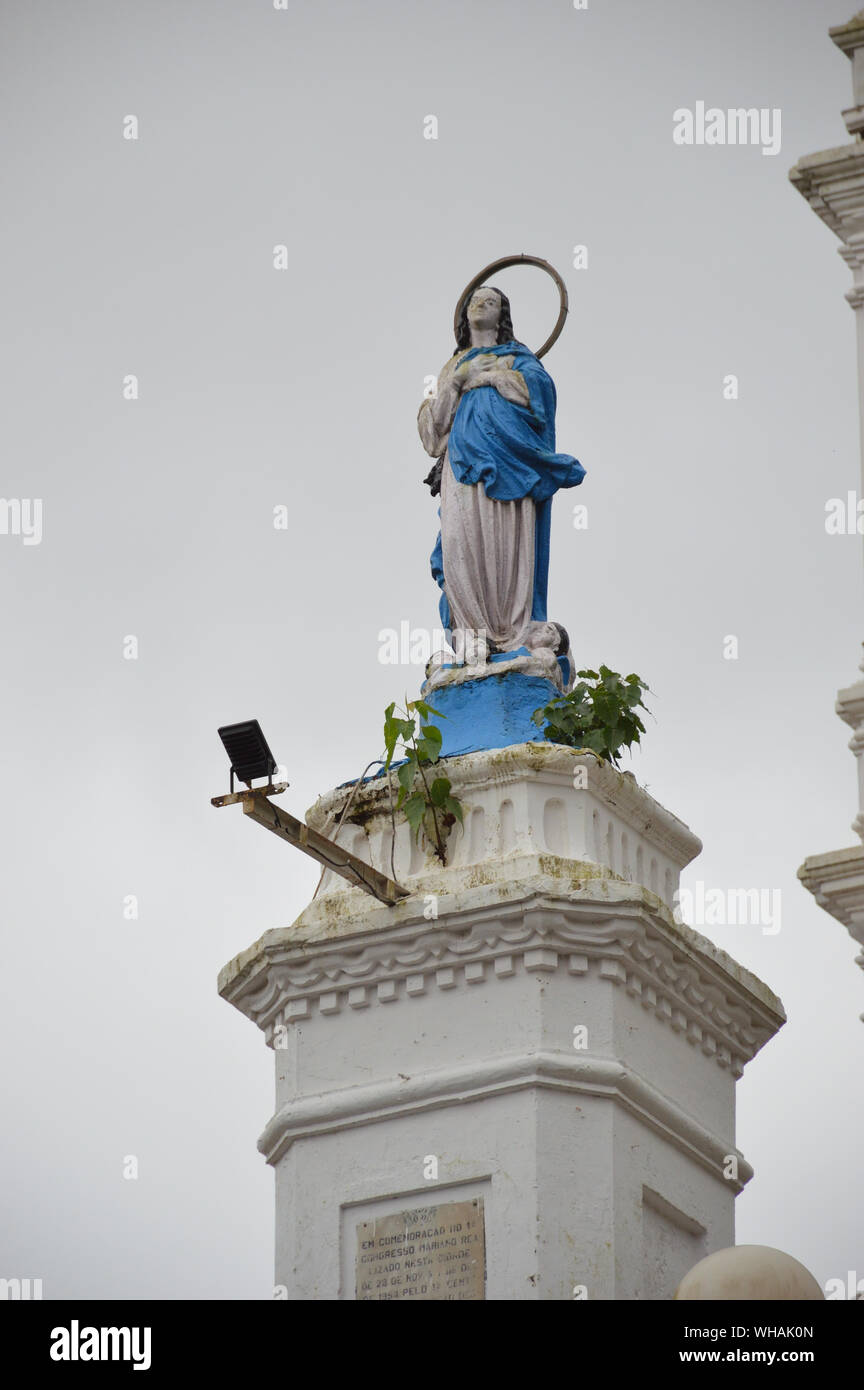 Statue Of Mary Immaculate Conception Stock Photos Statue