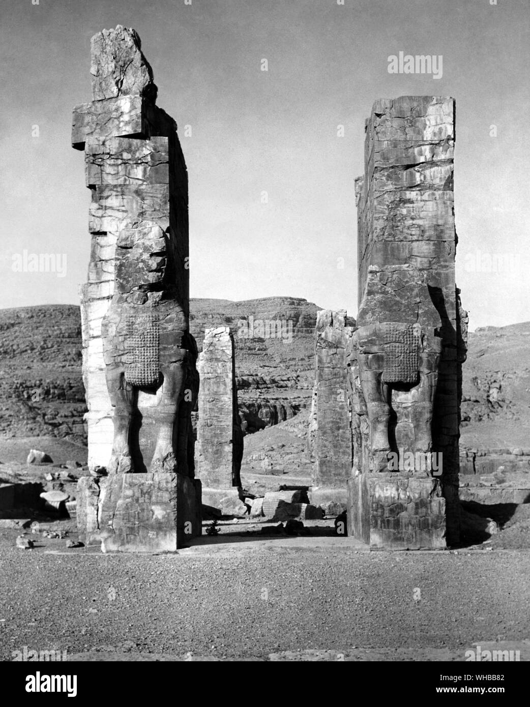 Persepolis Ancient City Of Persia Capital Of The Persian Empire Founded By Darius Near To Modern