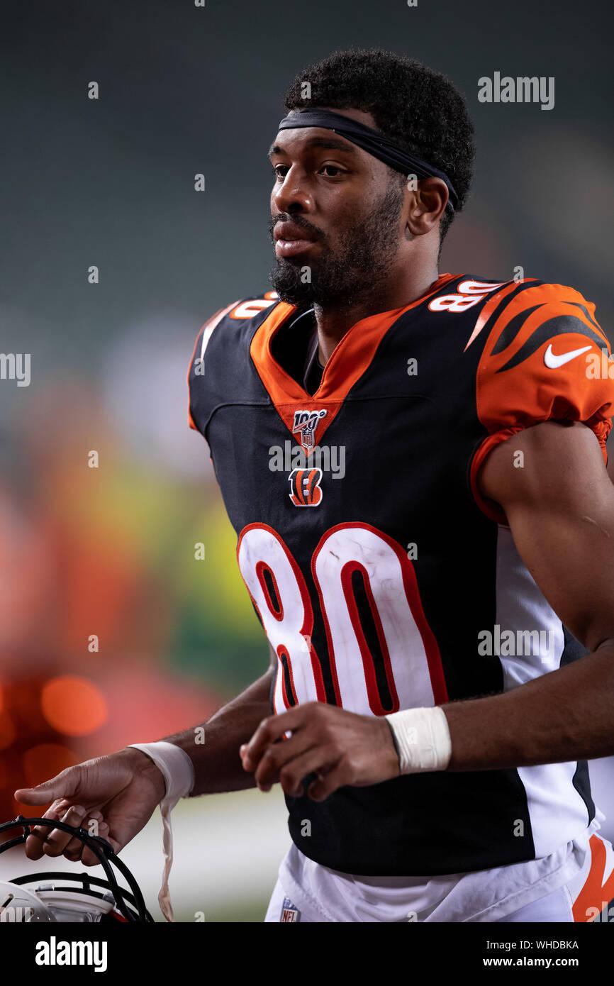 Cincinnati Bengals wide receiver Josh Malone (80) after an NFL ...