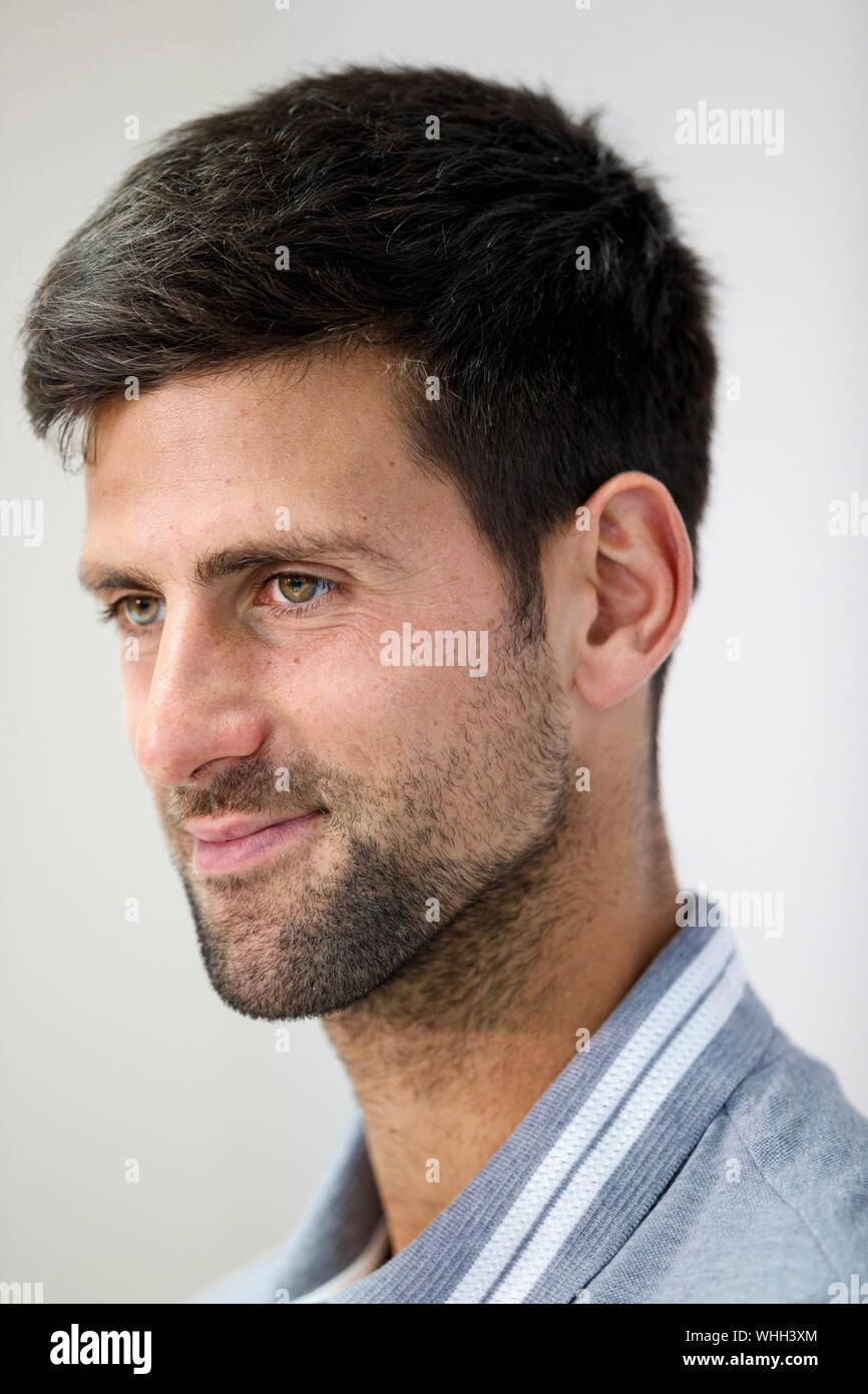 Novak Djokovic Portrait High Resolution Stock Photography And Images Alamy