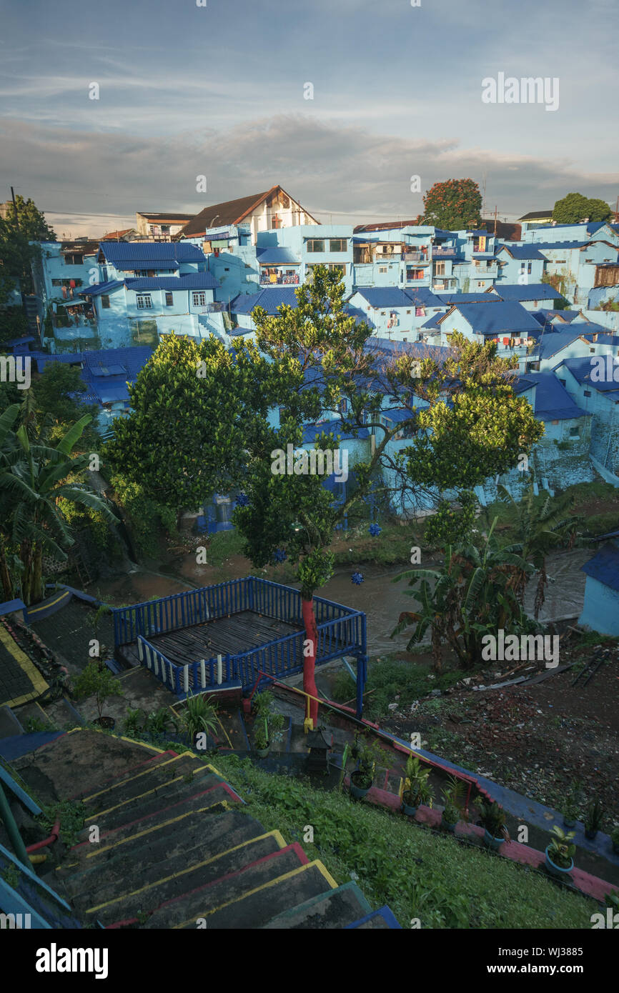 Colorful Village Jodipan Is Best Destination In Malang East Java Indonesia Stock Photo Alamy