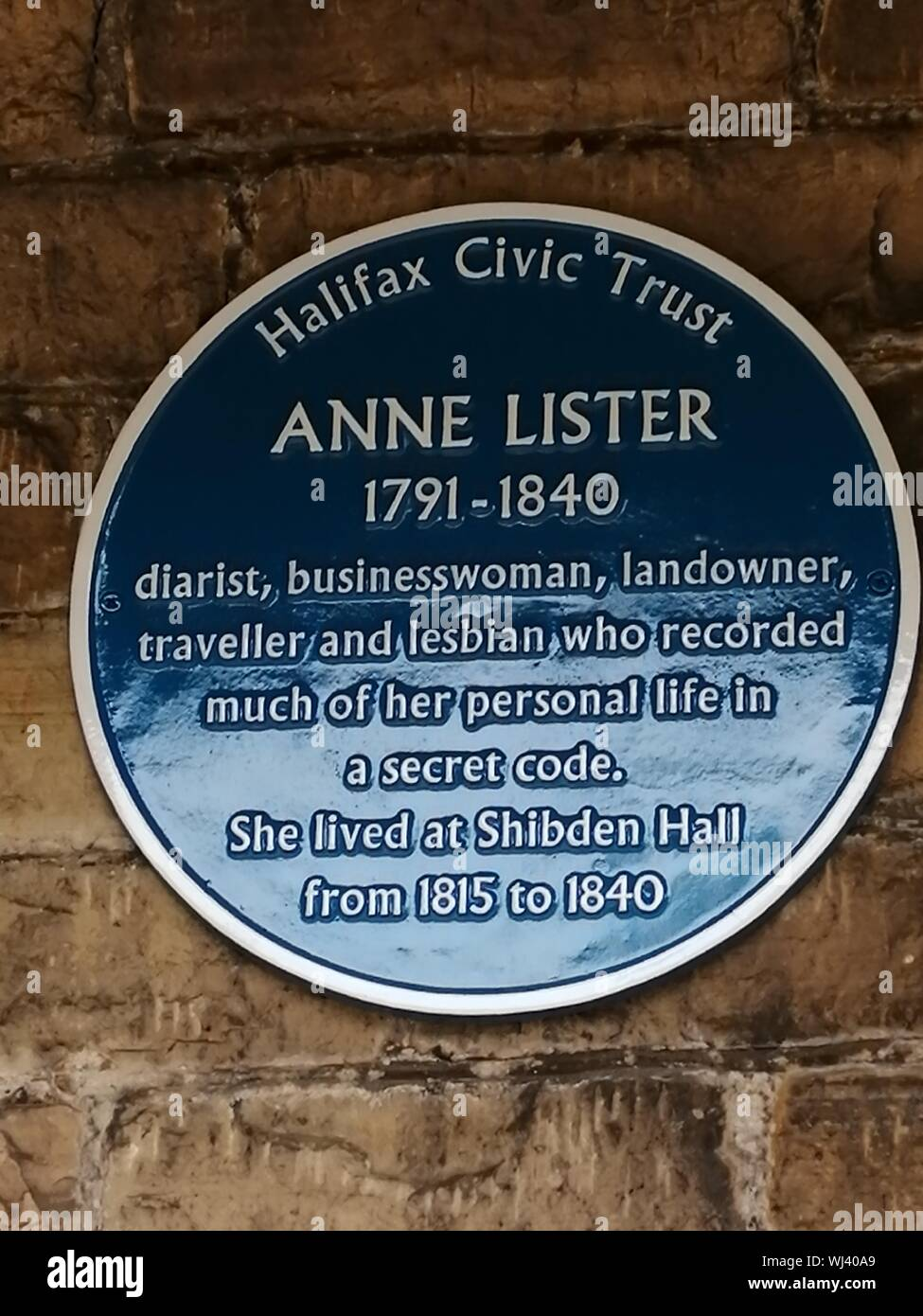 Anne Lister Stock Photos & Anne Lister Stock Images - Alamy