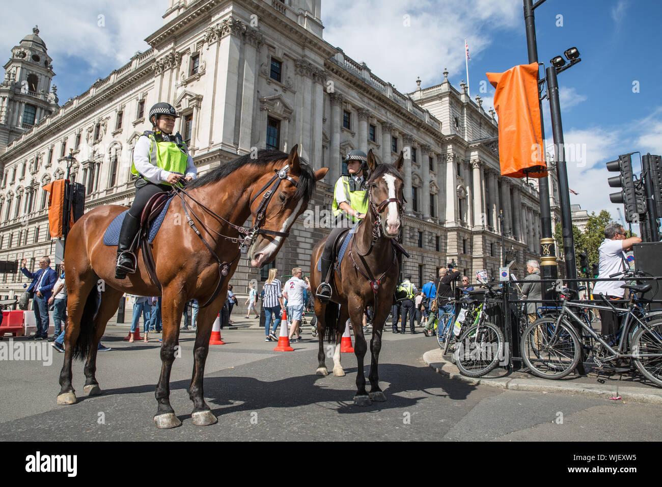 Pro Democracy rally, London 31st Aug 2019 Stock Photo