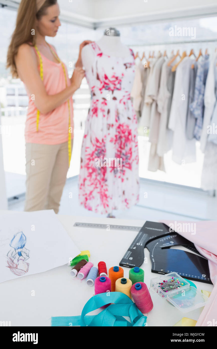 Dress Making Supplies High Resolution Stock Photography And Images Alamy