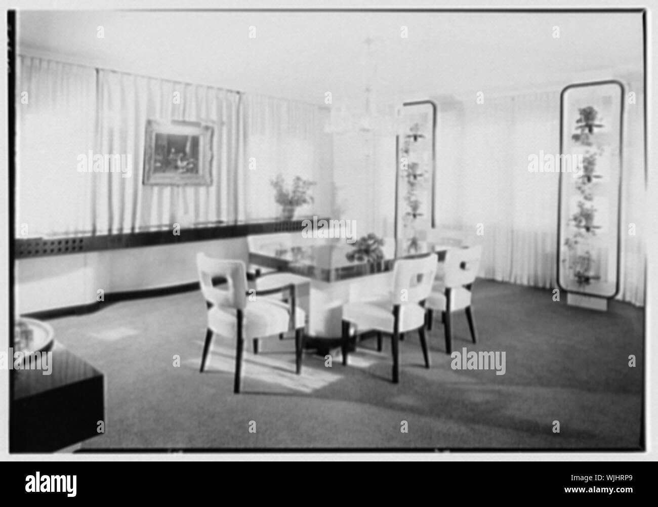 Herman Lowin, residence at 205 Townsend Ave., Pelham Manor, New York. Stock Photo