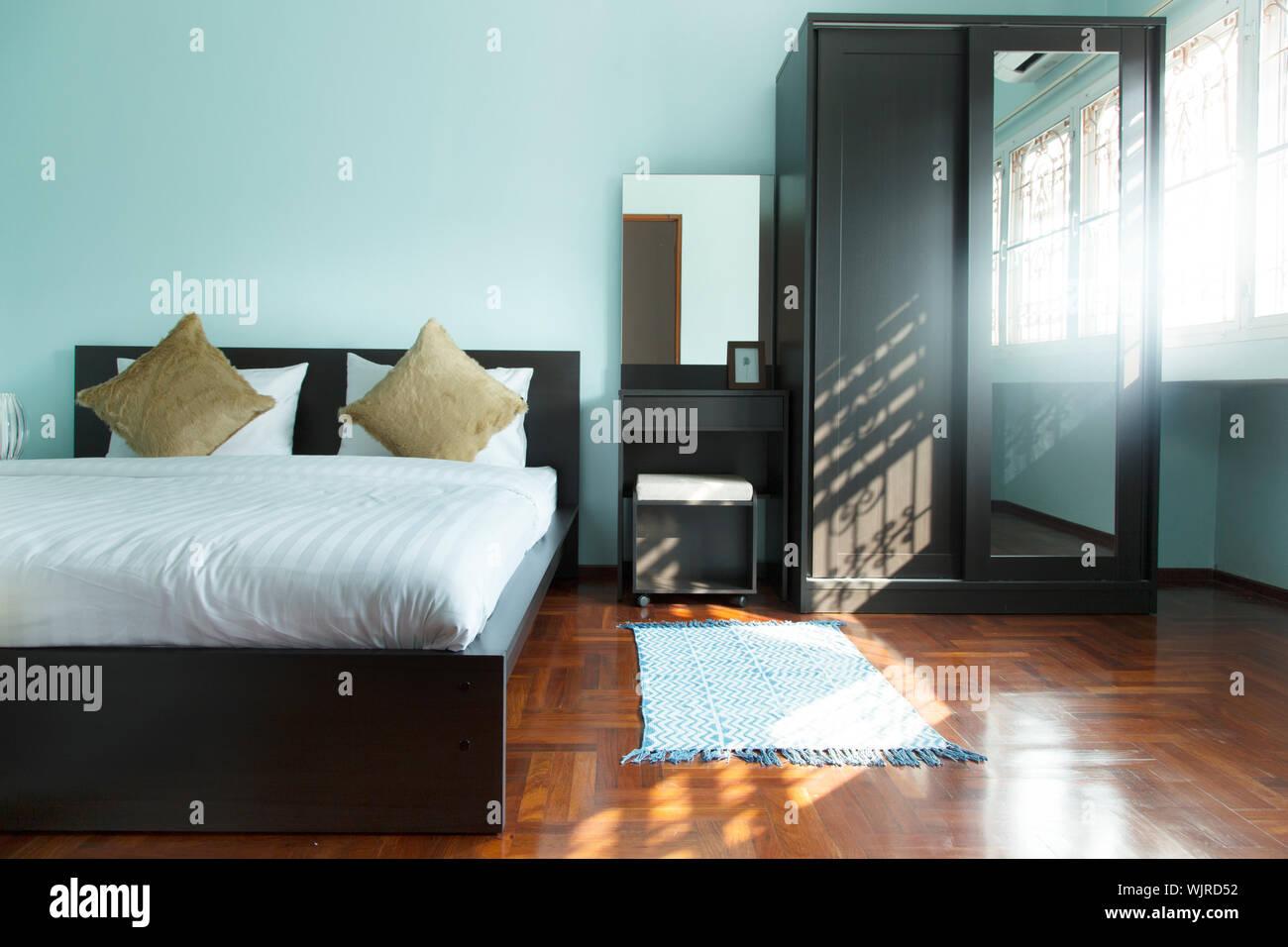 Interior Of Bedroom Stock Photo
