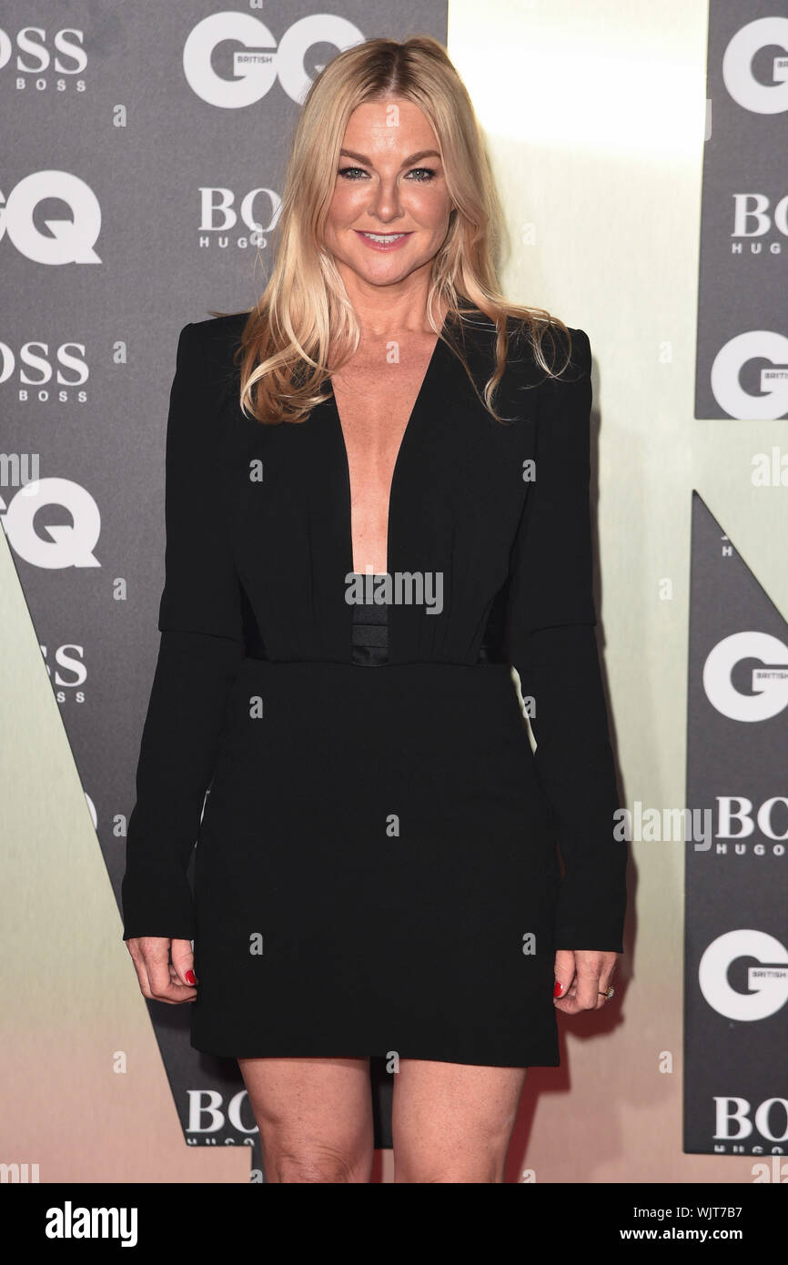 Sarah Hadland Attends The Gq Men Of