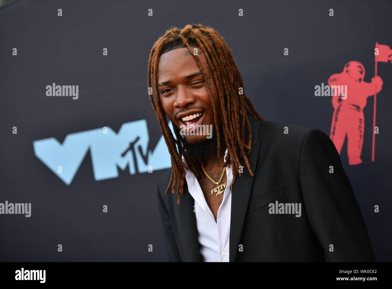 Fetty Wap attends the 2019 MTV Video Music Awards at