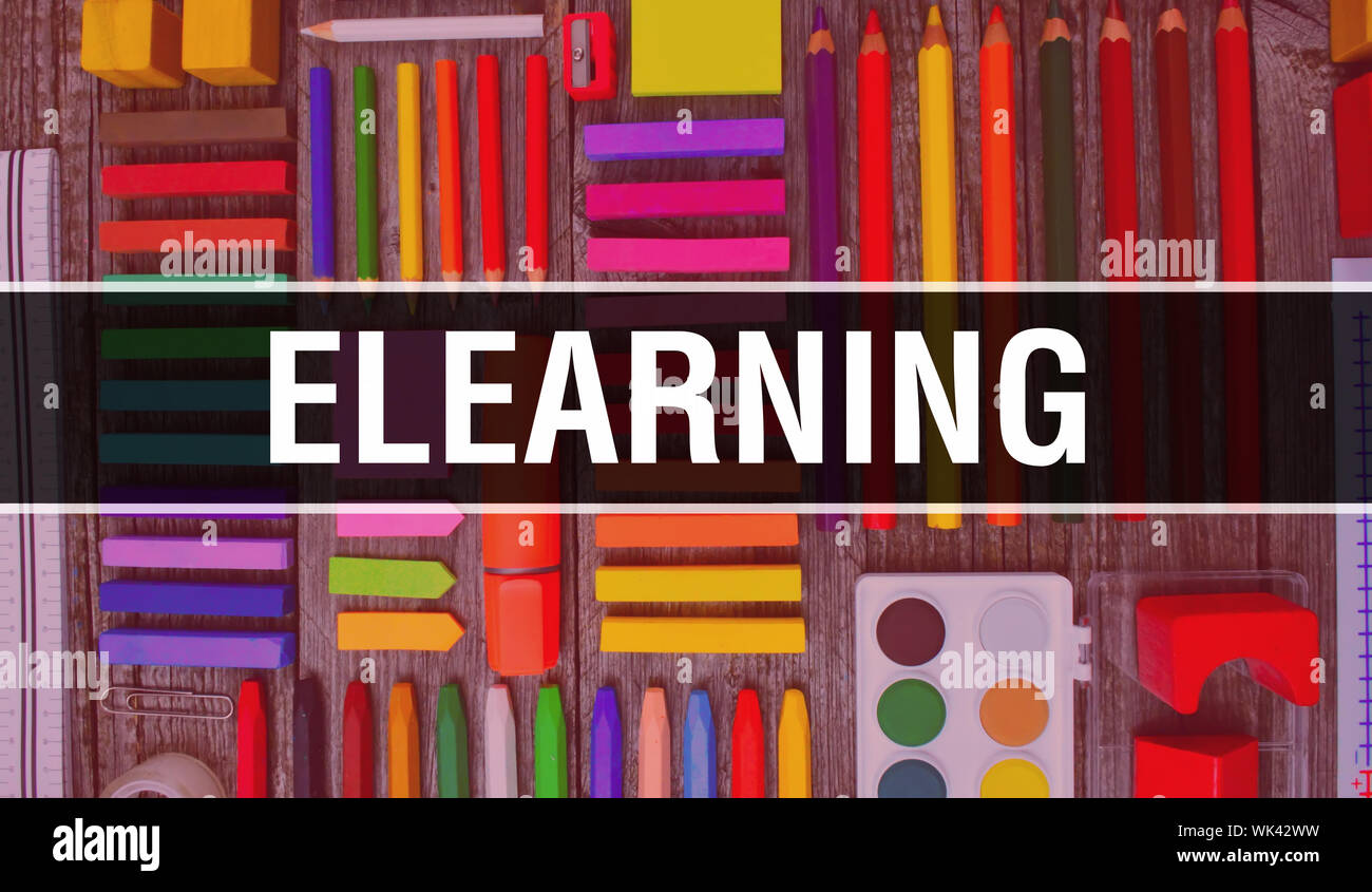 Elearning Text High Resolution Stock Photography And Images Alamy