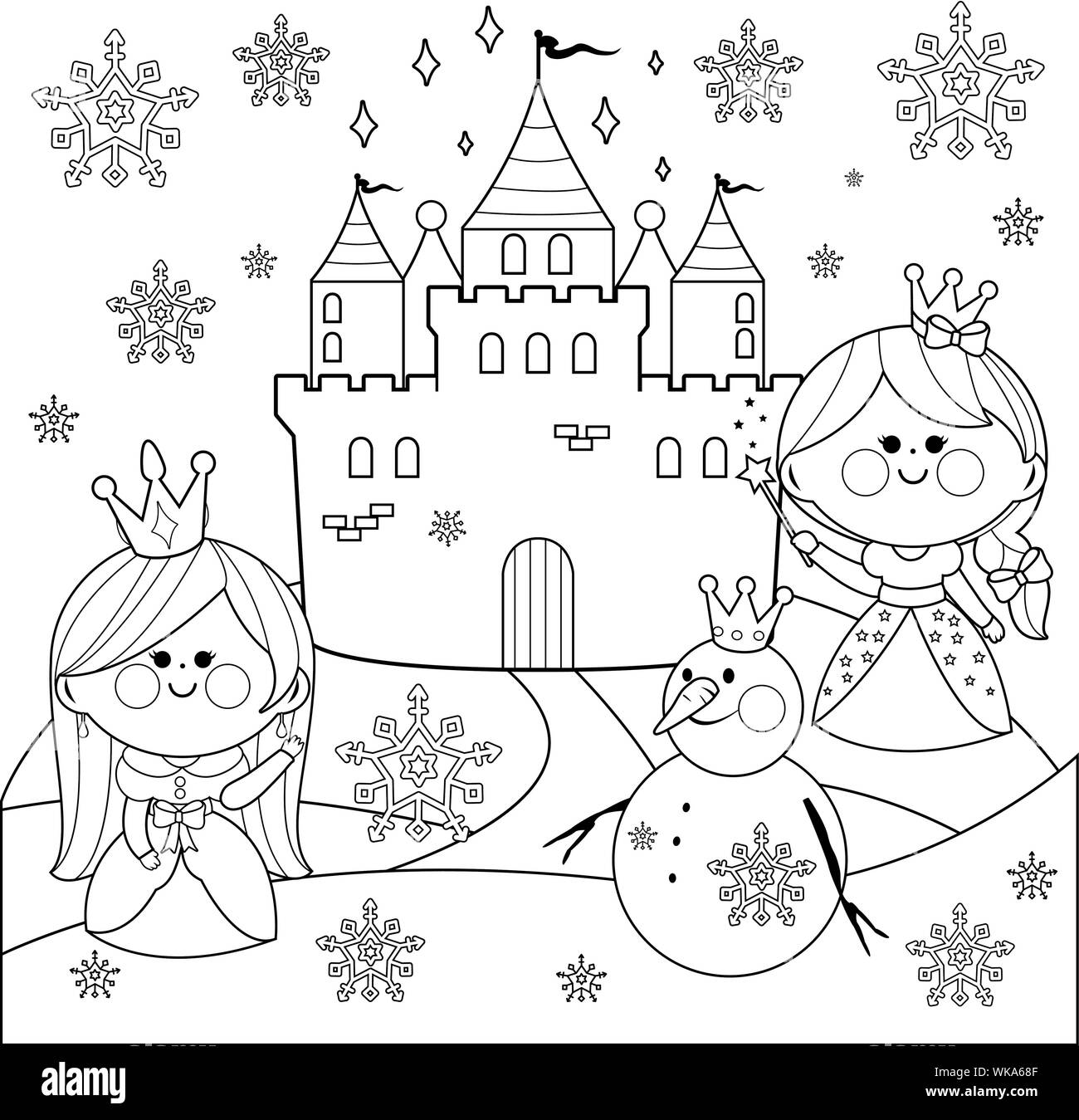 Beautiful Princess Coloring Pages For kids – Coloring Junction | 1349x1300