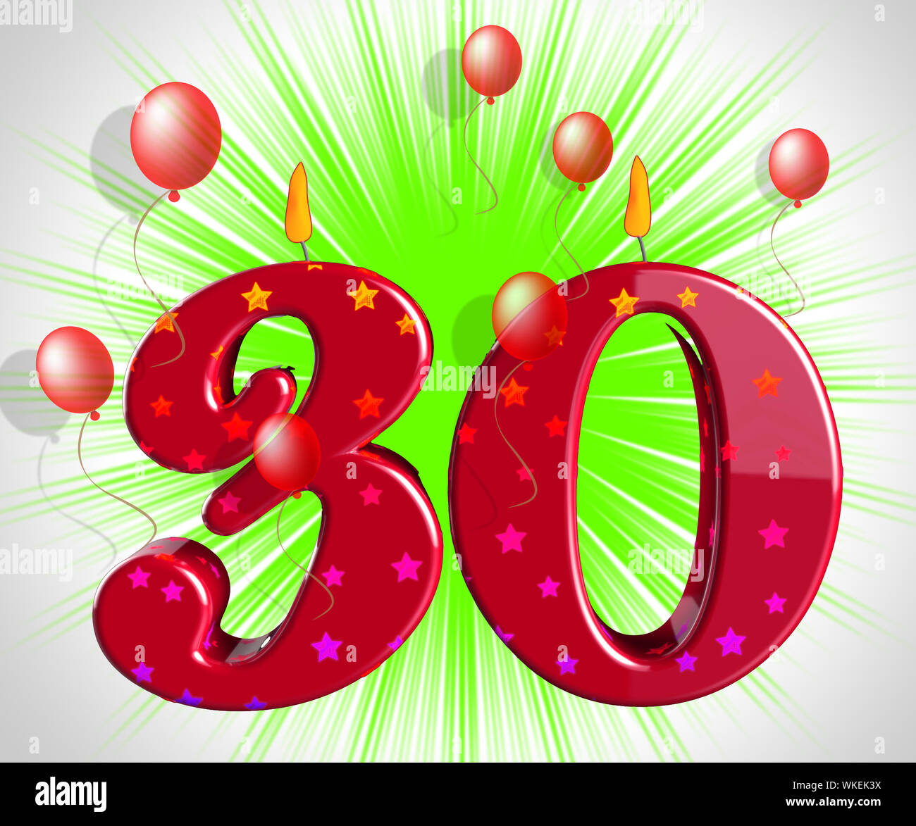 number 30 birthday meaning