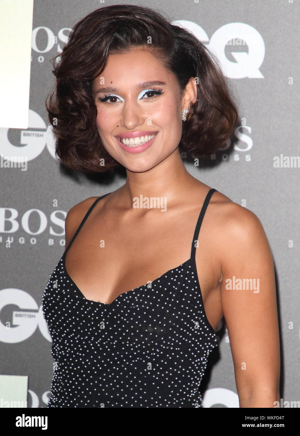 London, UK. 03rd Sep, 2019. Raye attends the GQ Men of the Year Awards held at the Tate Modern, Bankside in London. Credit: SOPA Images Limited/Alamy Live News - Stock Photo