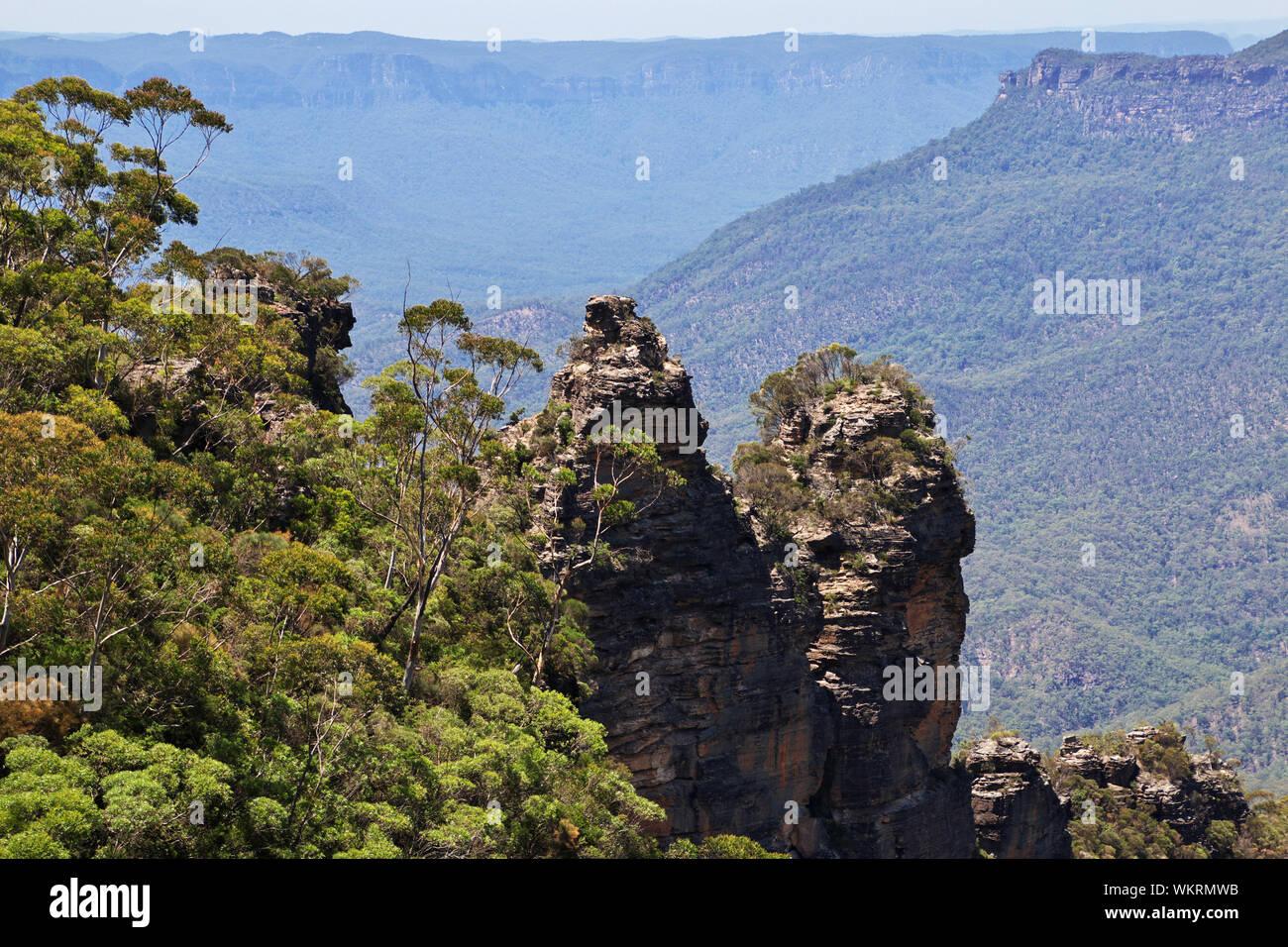 Blue mountains national park, Australia Stock Photo