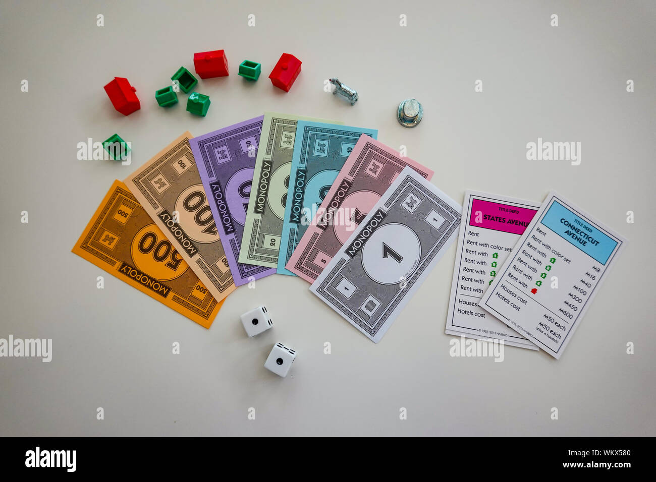 Family Board Game Night High Resolution Stock Photography And Images Alamy