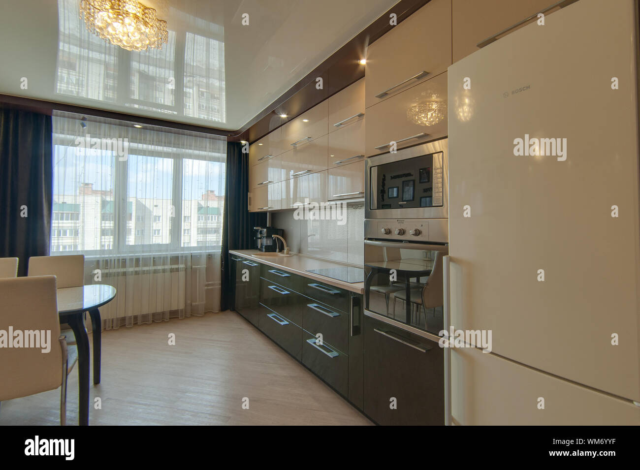 Russia, Moscow- June 13, 2018: interior room apartment ...