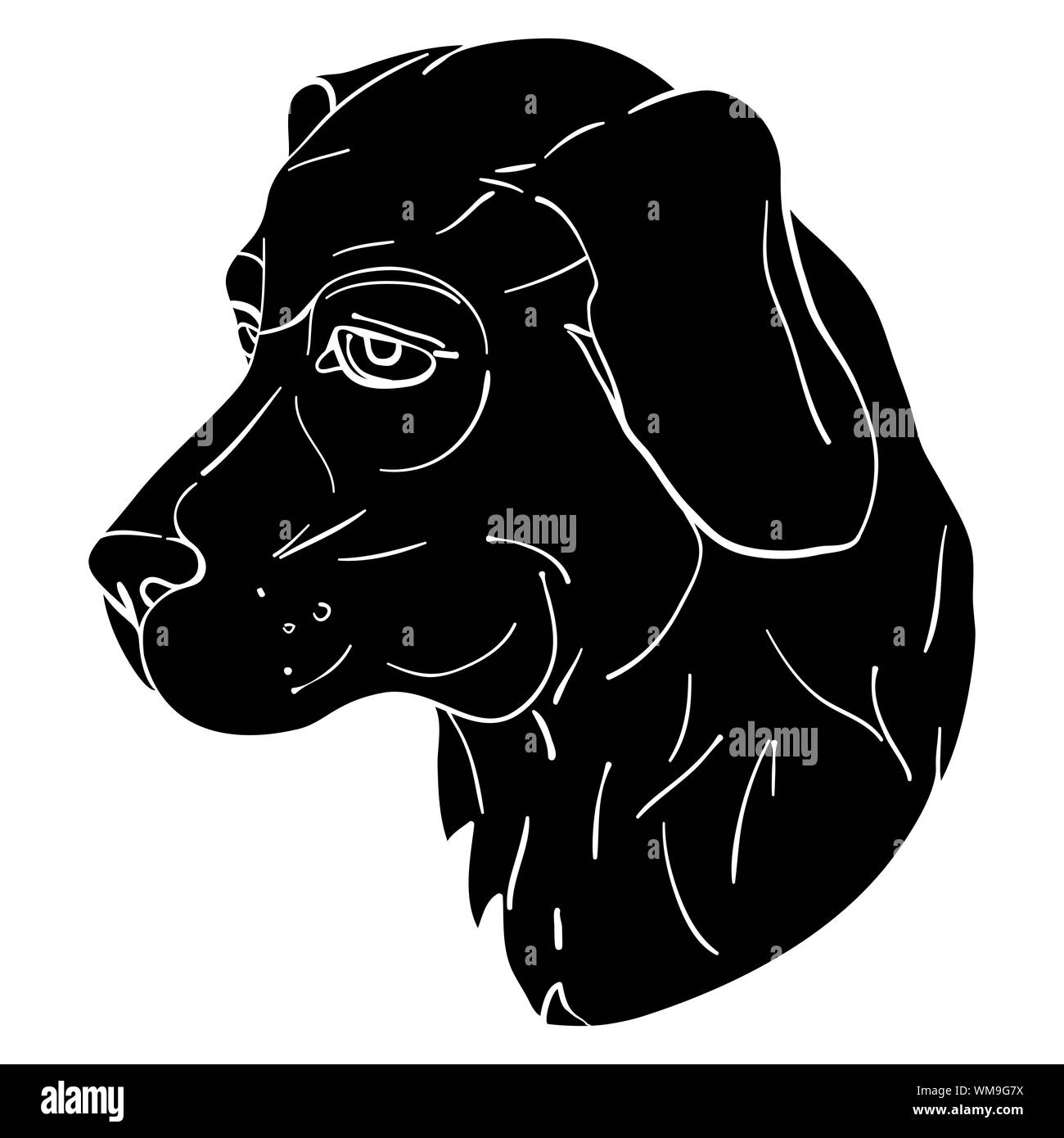 Chinese Zodiac Black and White Stock Photos & Images - Alamy