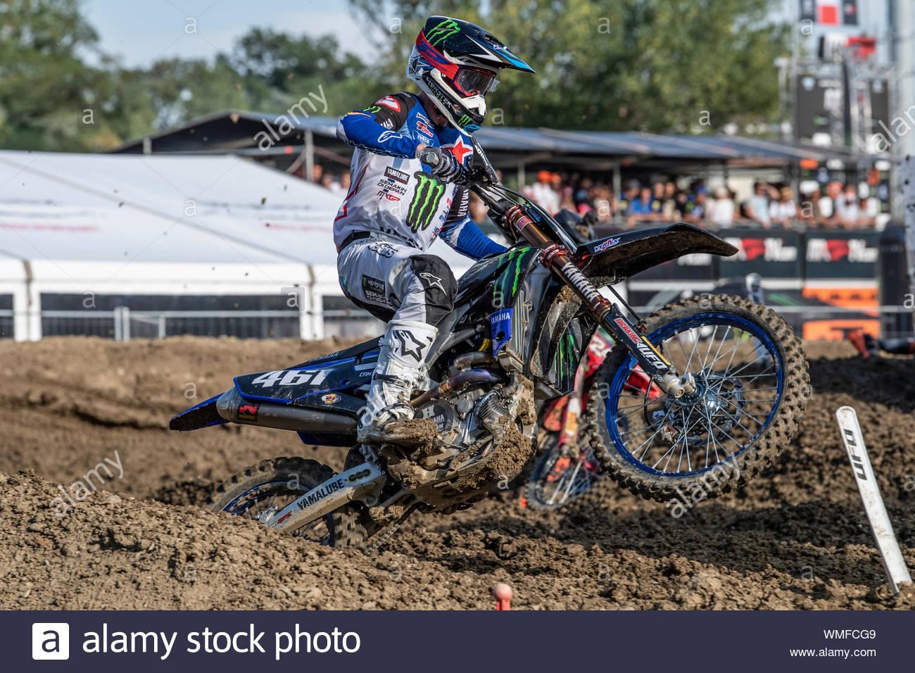 romain febvre, imola, motocross mxgp, gran premio d'italia, imola bologna 17-08-2019 Stock Photo