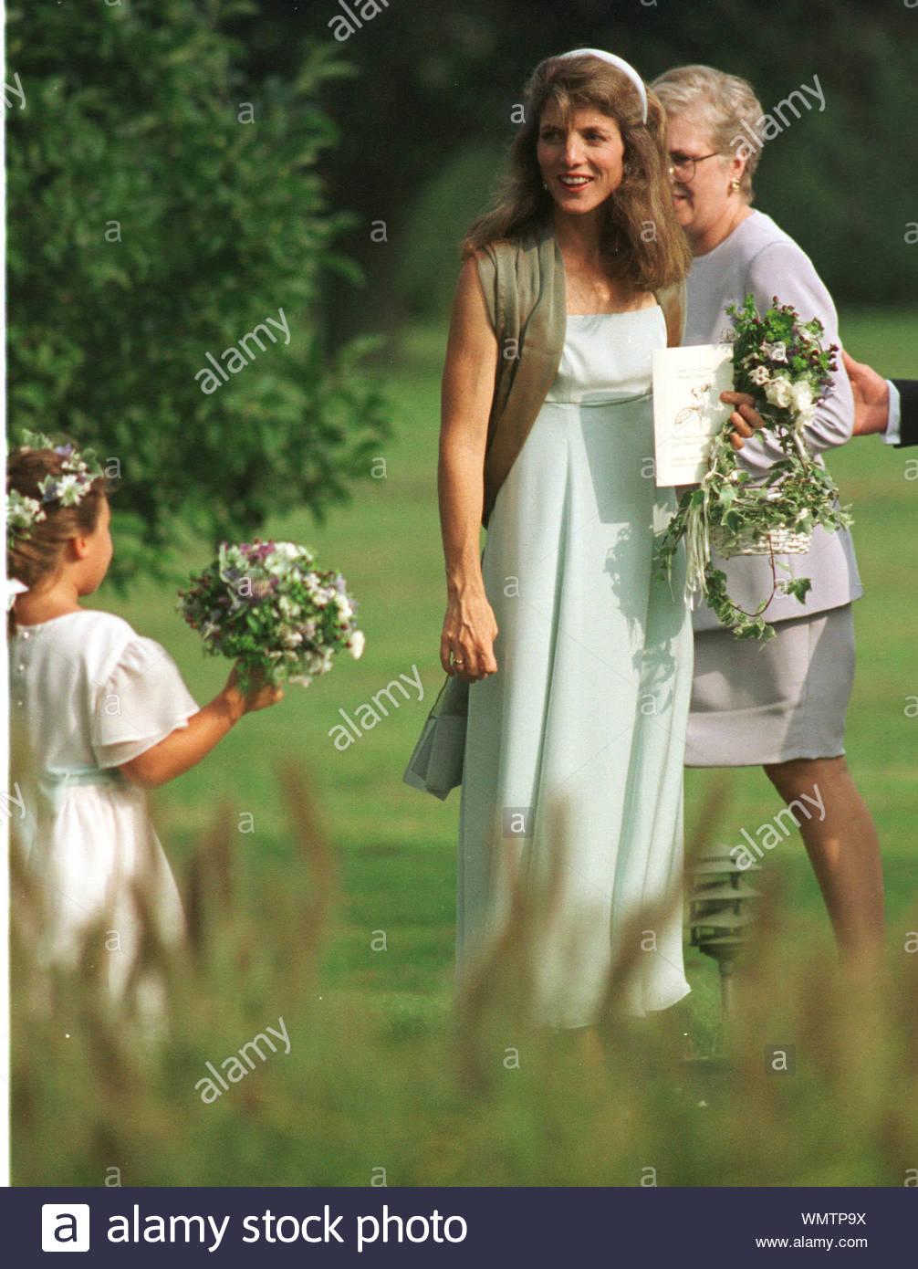 East Hampton Ny Caroline Kennedy Schlossberg At The Marriage Of