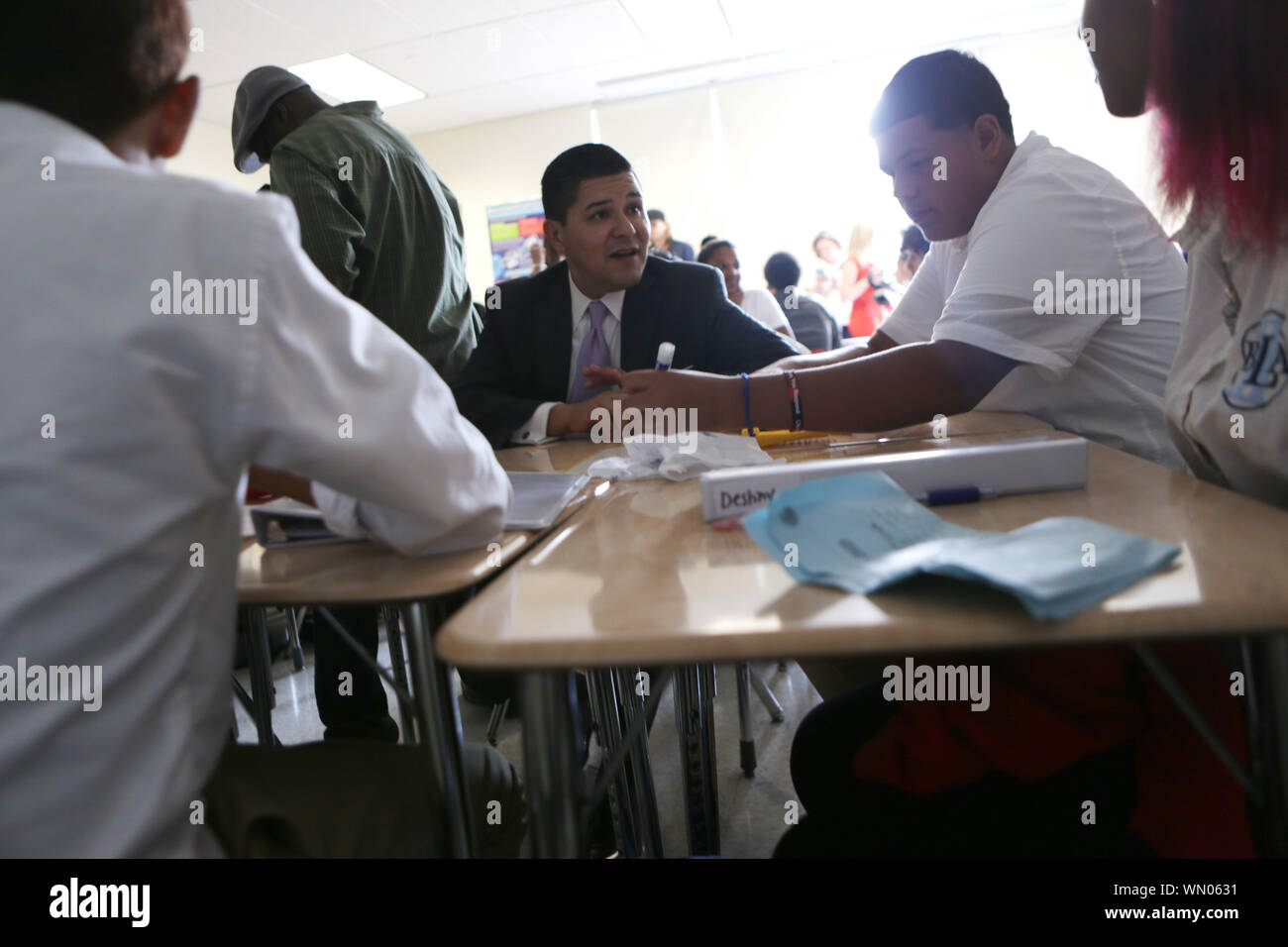 Bronx Leadership Academy High Resolution Stock Photography And Images Alamy