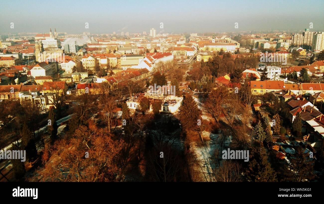 Cityscape Against Sky Stock Photo