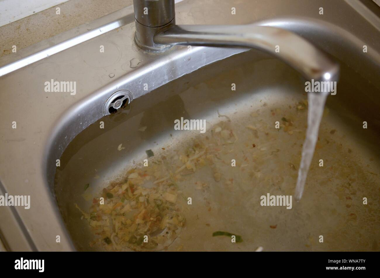Clogged Drain High Resolution Stock Photography And Images Alamy