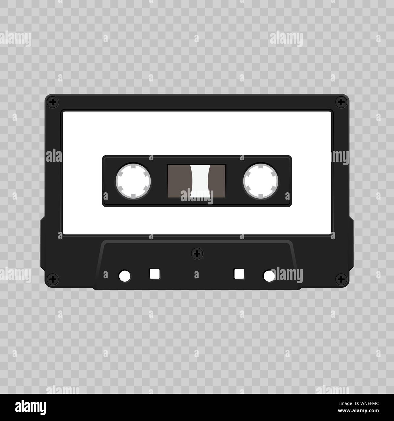 Cassette Tape Box Template from c8.alamy.com