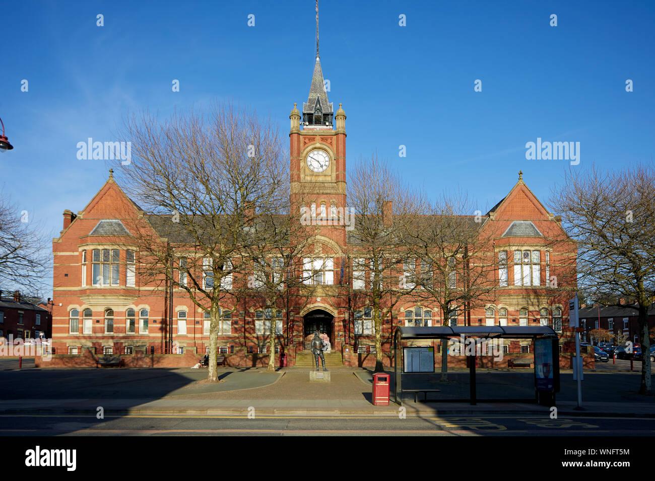Tameside Dukinfield Town Hall on King Street Stock Photo
