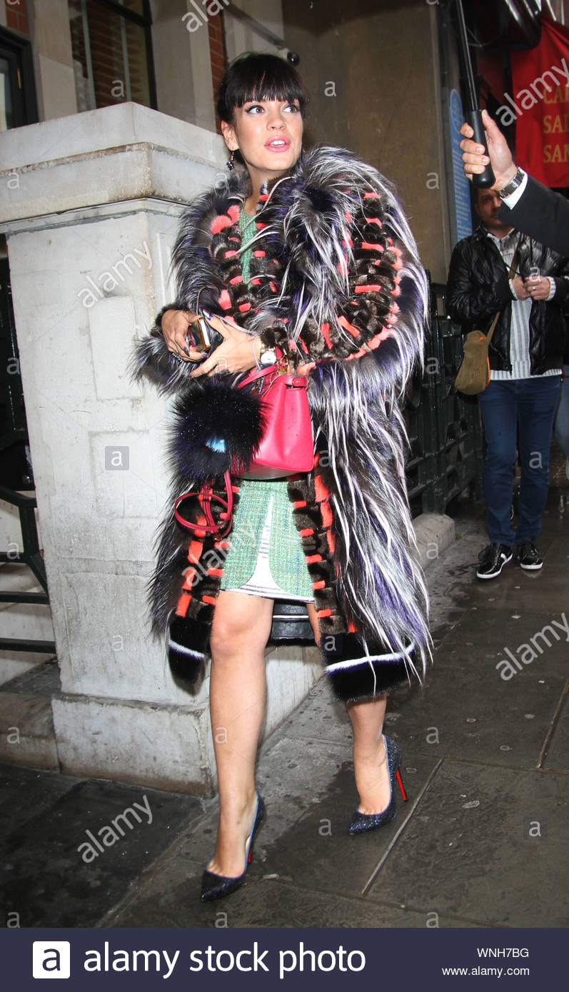 London Uk Part 2 Singer Lily Allen Strikes A Pose During The