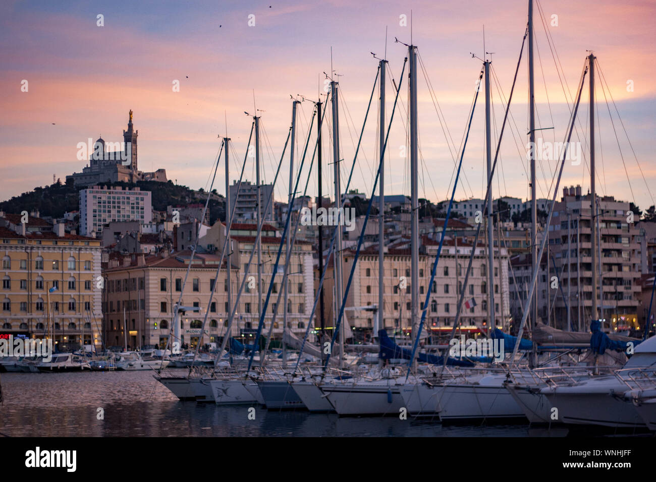 France Marseille Sailboats Sailing Stock Photos France Marseille