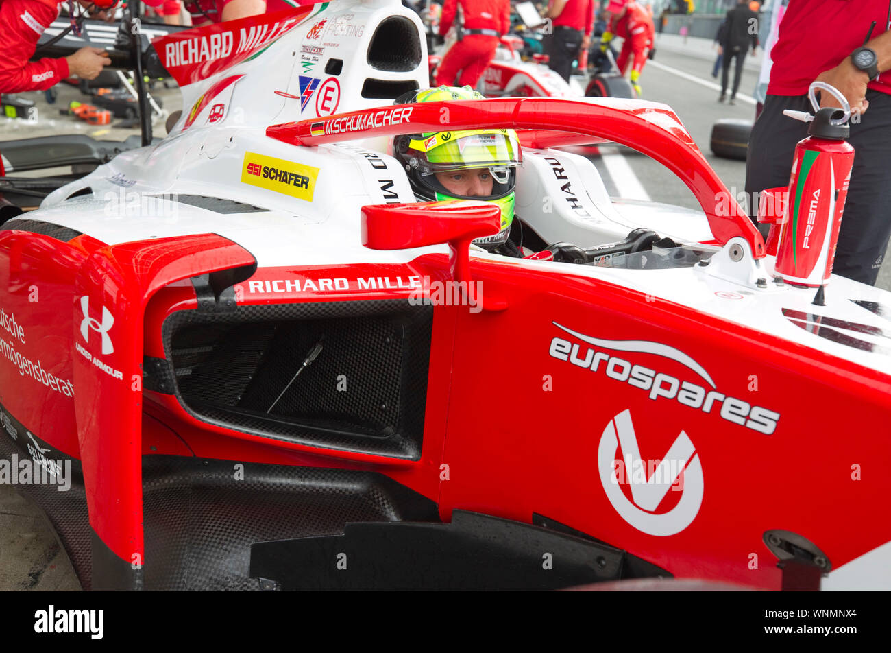 Monza Italy 06th Sep 2019 Monza Italy September 06 2019 Fia Formula 2 Grand Prix Of Italy With Mick Schumacher Prema Powerteam F2 Credit Mandoga Media Alamy Live News Stock Photo Alamy