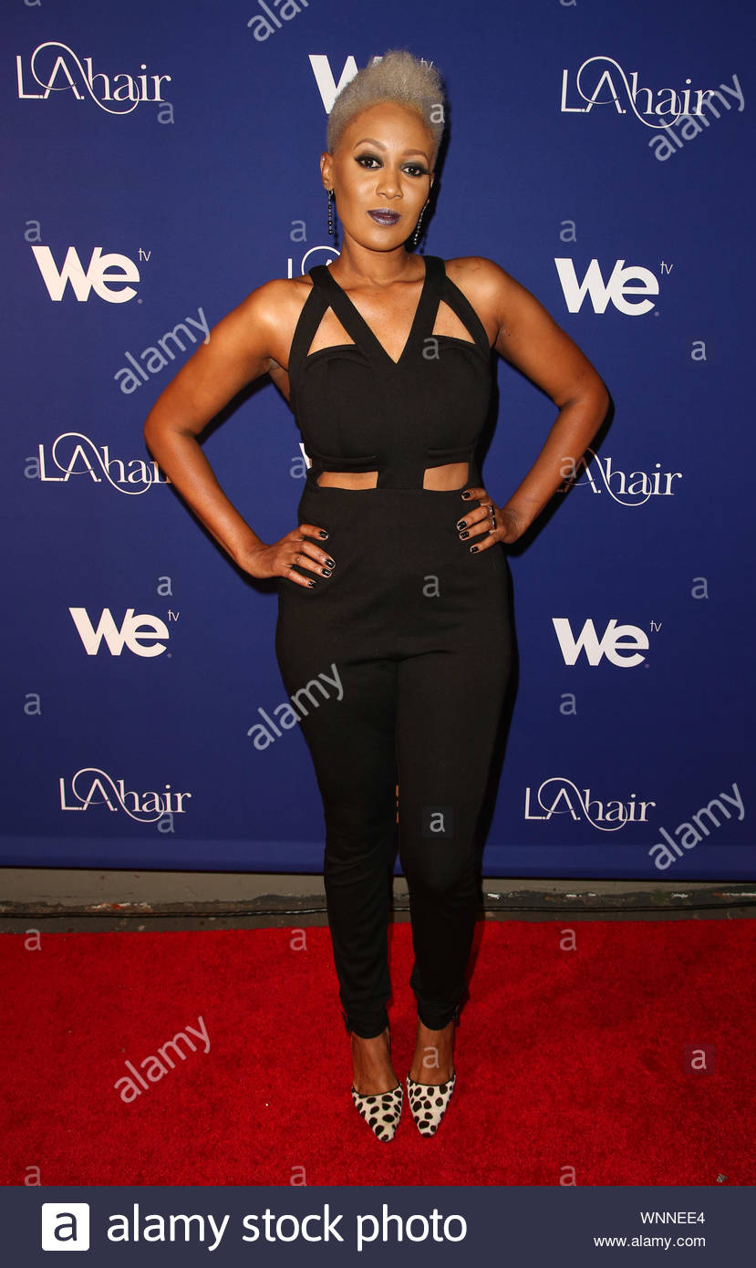 West Hollywood, CA - China at WE TV's L.A. Hair Season 3 Premiere Event at Kimble Hair Studio. AKM-GSI May 21, 2014 Stock Photo