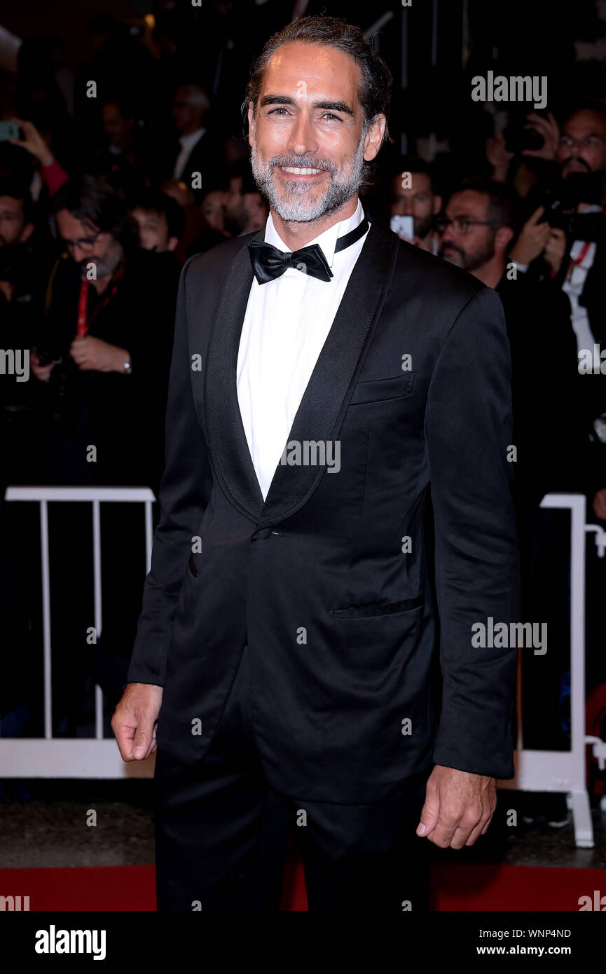 Venice, Italy. 06th Sep, 2019. 76th Venice Film Festival 2019, Red carpet film 'Waiting for the barbarians'. Pictured: Sergio Muniz Credit: Independent Photo Agency/Alamy Live News Stock Photo