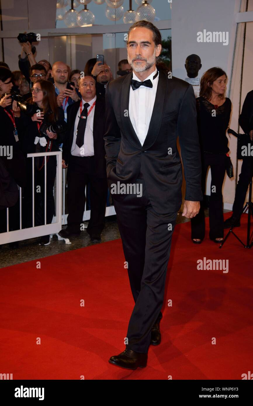 Venice, Italy. 06th Sep, 2019. 76th Venice Film Festival 2019, Red Carpet Film Waiting For The Barbarians. Pictured Sergio Muniz Credit: Independent Photo Agency/Alamy Live News Stock Photo