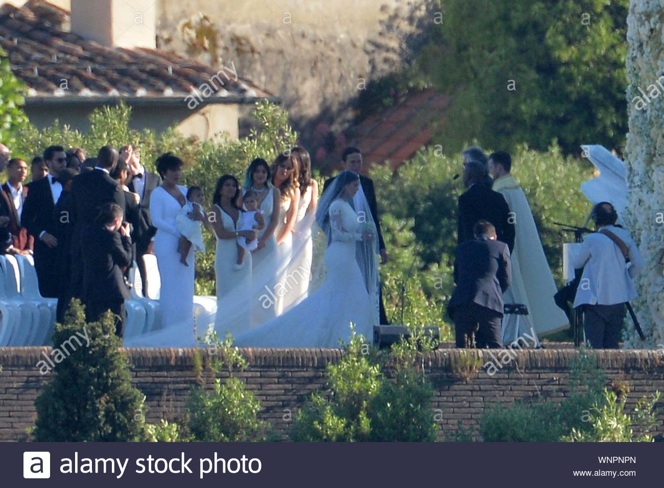Florence Italy Shot On May 24 2014 Kim Kardashian And Kanye West Tied The Knot Today
