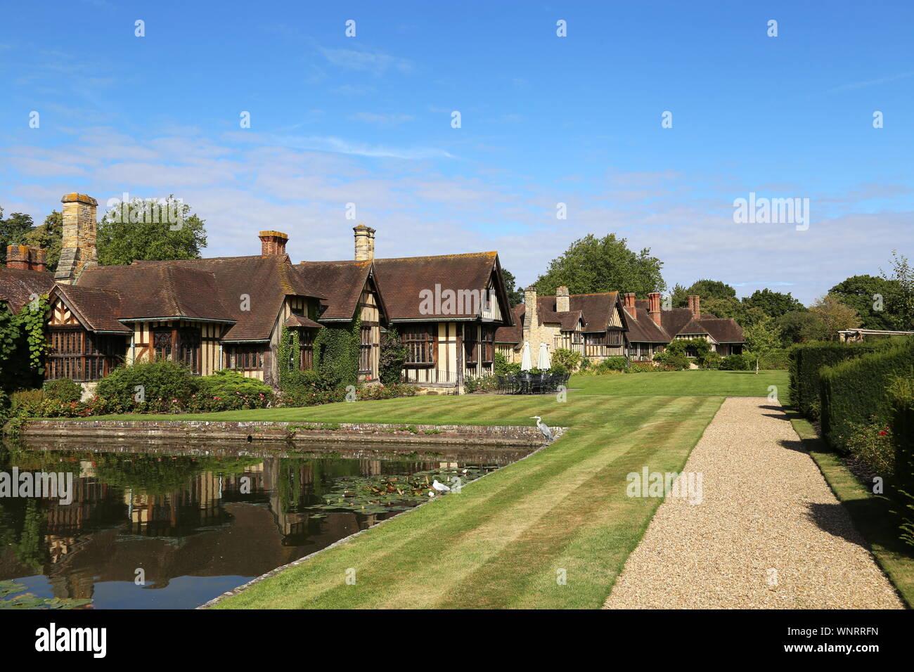 Astor Wing, Hever Castle, Hever, Edenbridge, Kent, England, Great Britain, United Kingdom, UK, Europe Stock Photo