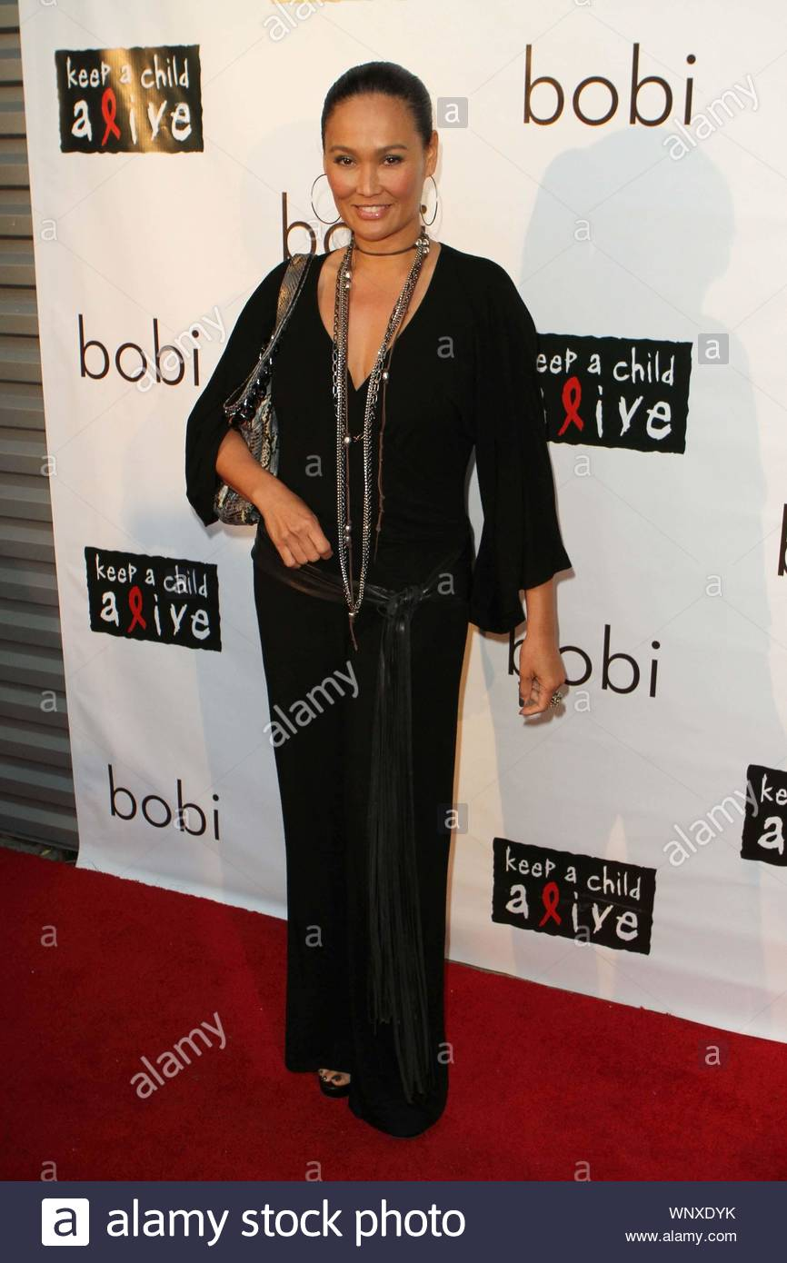 "West Hollywood, CA - Revolve Clothing hosted the bobi Sample Sale For A Cause event showcasing Kara Lusardi's bobi clothing line, with all proceeds donated to the Keep a Child Alive foundation. Stars that hit the red carpet were co-host Ali Landry (Pic 1,9,11,12,15,22), Tia Carrere (Pic 2,8,13,17,19,21,23) and co-host Sophie Monk (Pic 2,9,11,15,19,23), Chrishell Stause from ""All My Children"" (Pic 3,16,), Kara Lusardi (Pic 4,9,11,15,18), E!'s ""D10"" host Catt Sadler (Pic 5,), Vanessa Lengies from ""Hawthorne"" (Pic 6,9,10,11,15,20), and Lisa Locicero from ""General Hospital"". GSI Media June 23, Stock Photo"