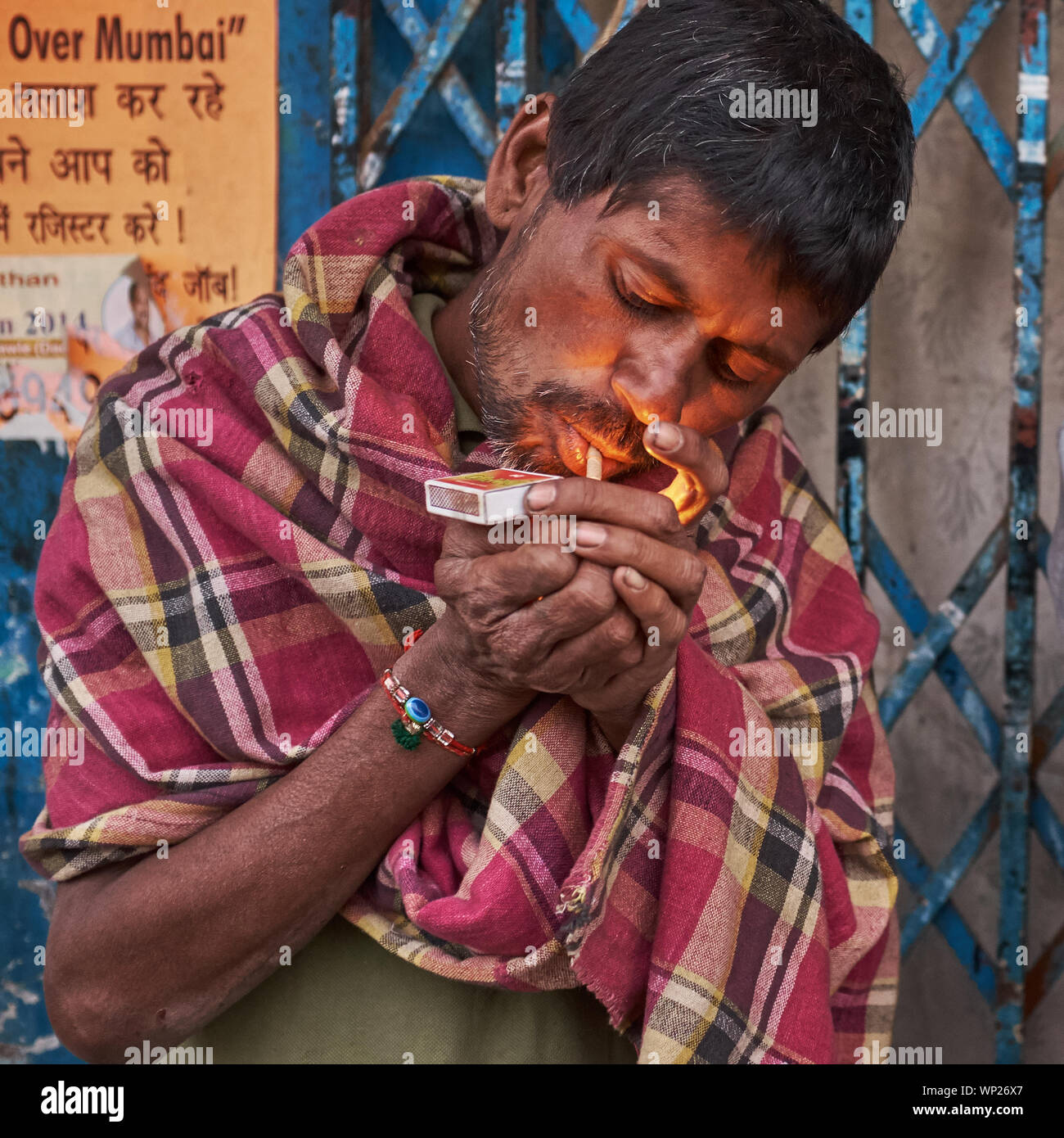 Smoking Cigarette India High Resolution Stock Photography And Images Alamy