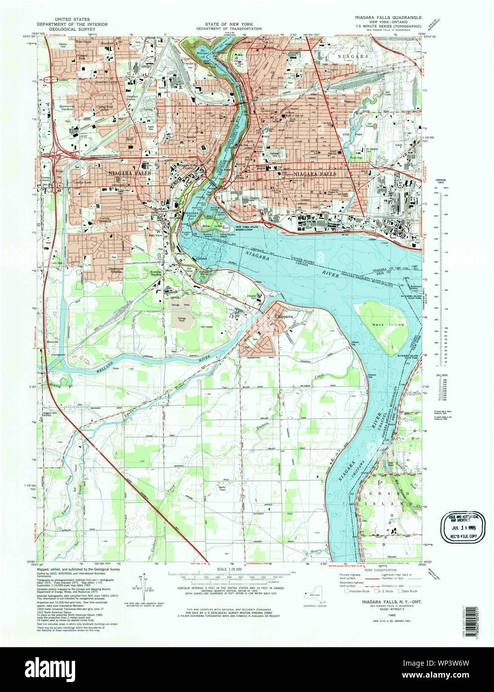 New York Ny Niagara Falls 130855 1980 25000 Restoration