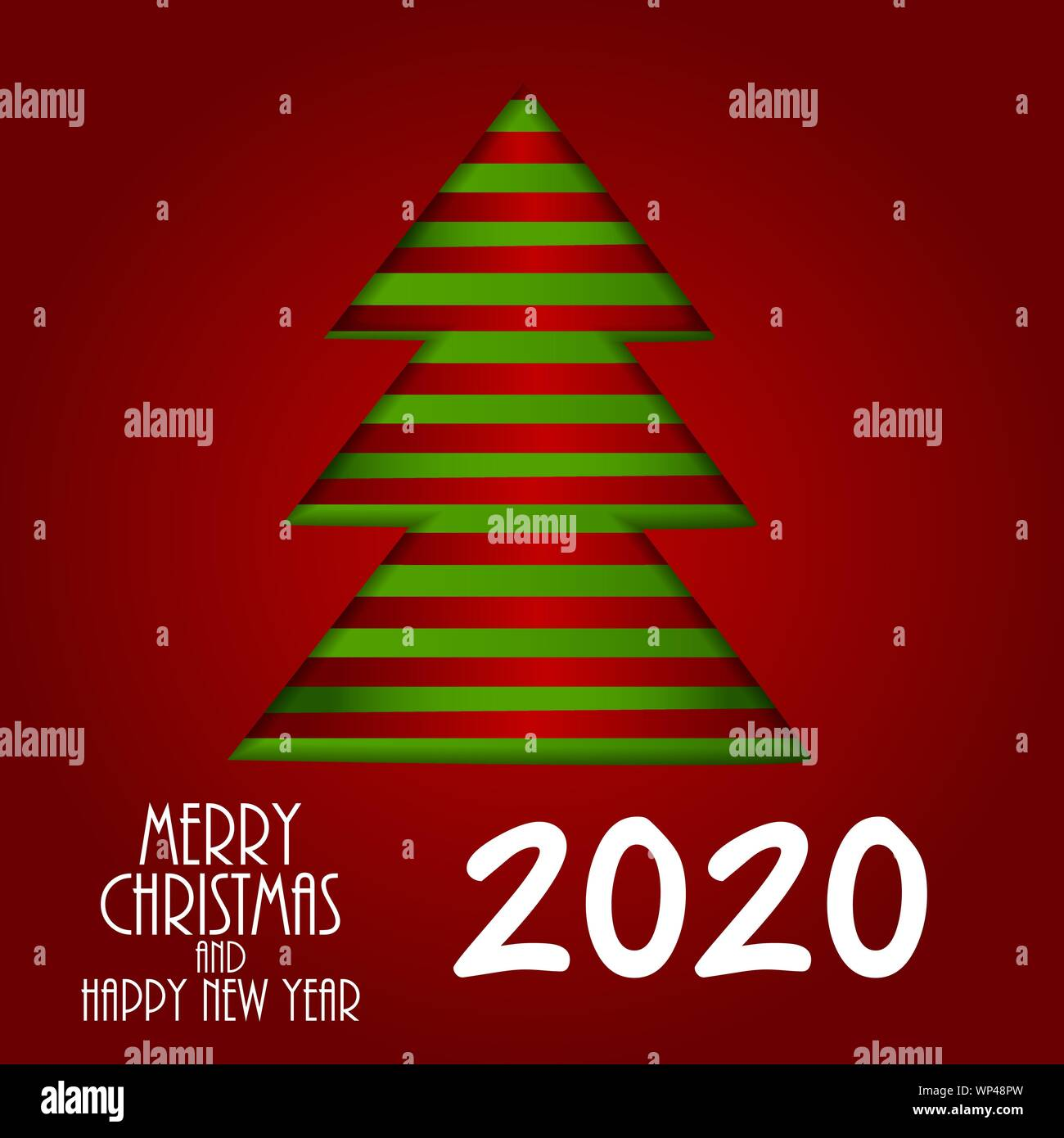Merry Christmas Images 2020.2020 New Year And Merry Christmas Background Vector