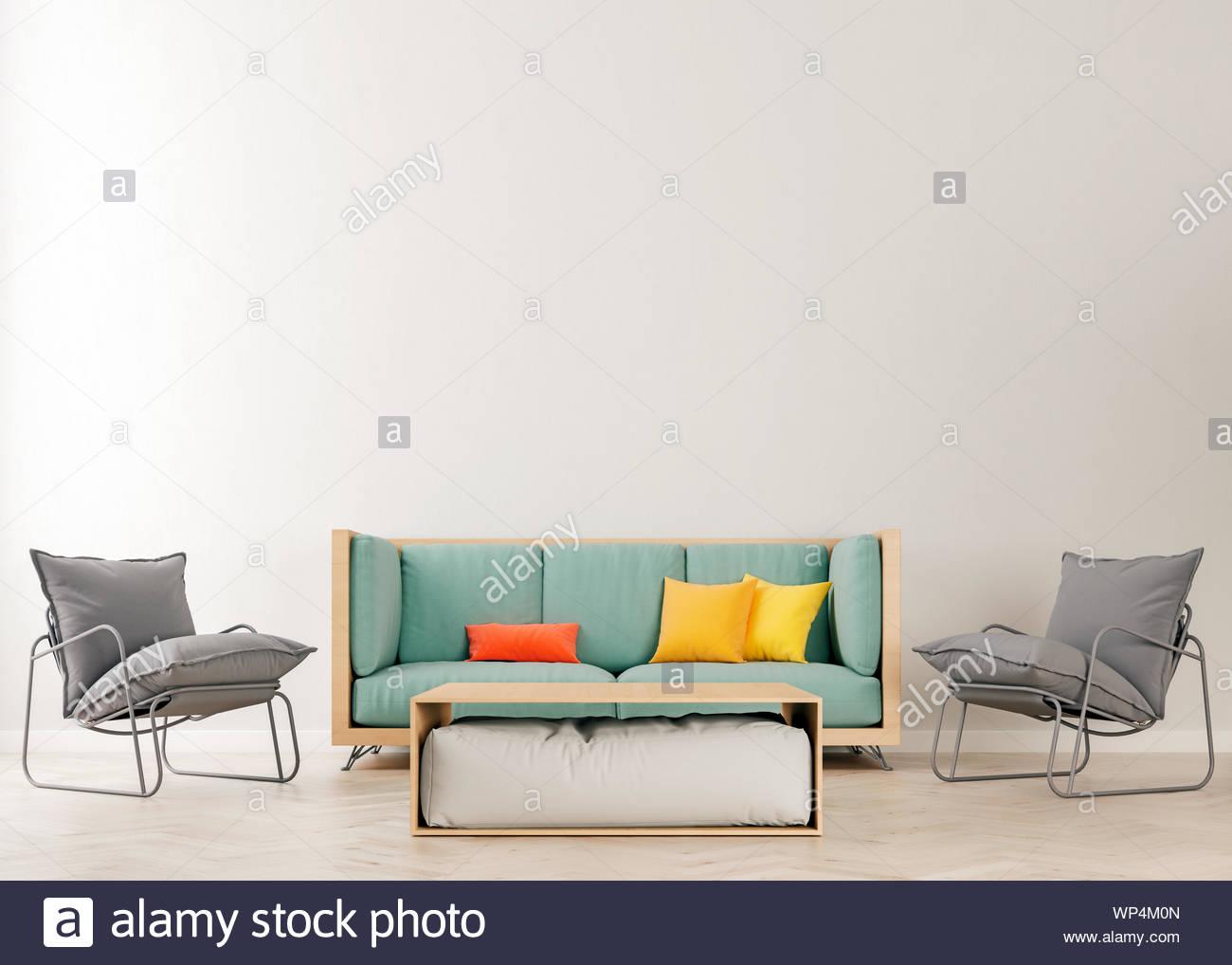 Admirable Horizontal Mock Up Poster Frame In Modern Interior Inzonedesignstudio Interior Chair Design Inzonedesignstudiocom