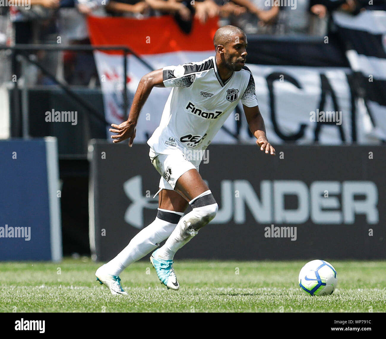 Sao Paulo Sp 07 09 2019 Corinthians X Ceara Fabinho Do Ceara During A Match Between Corinthians X Ceara Held At Corinthians Arena East Zone Of Sao Paulo Sp The Match Is