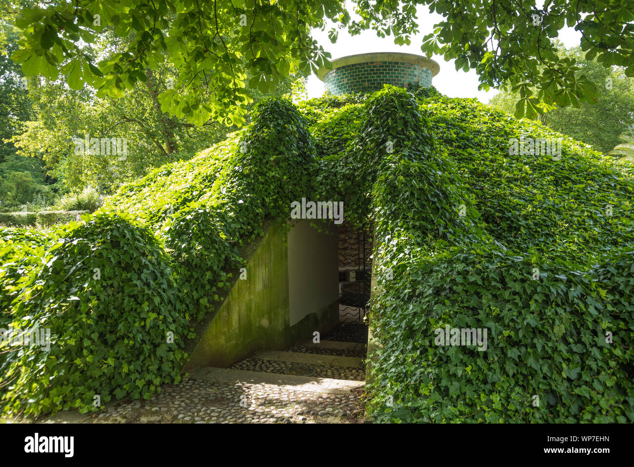 Paris, Park von Bercy - Paris, Parc de Bercy Stock Photo