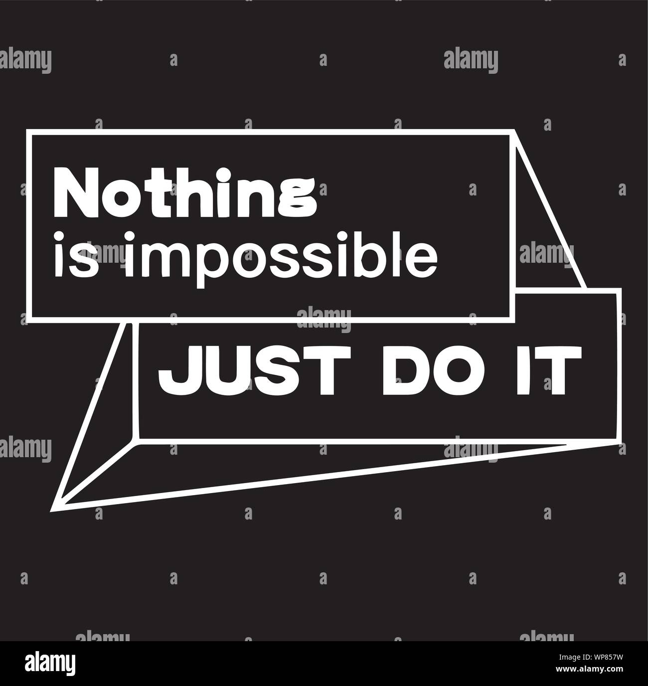 Nothing Is Impossible Just Do It Inspirational Quotes And ...