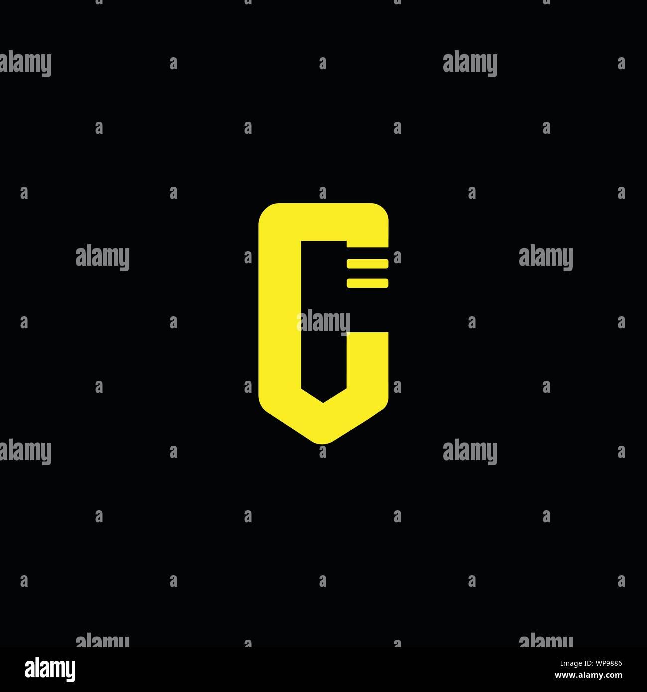 Creative Innovative Initial Letter Logo Cc C Minimal Luxury Monogram Professional Initial Design Premium Business Typeface Alphabet Symbol Stock Vector Image Art Alamy