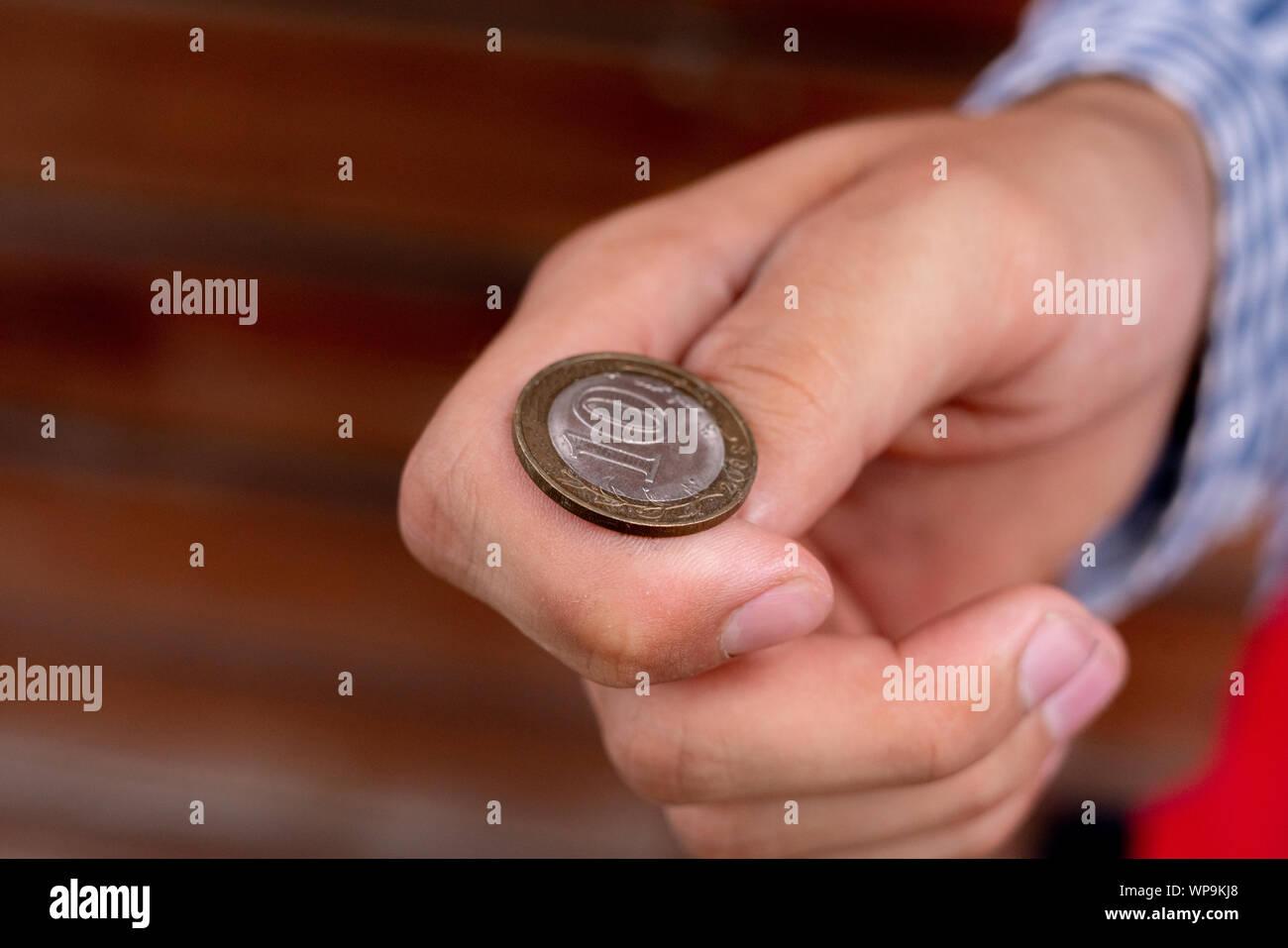 Toss A Coin Stock Photos & Toss A Coin Stock Images - Alamy