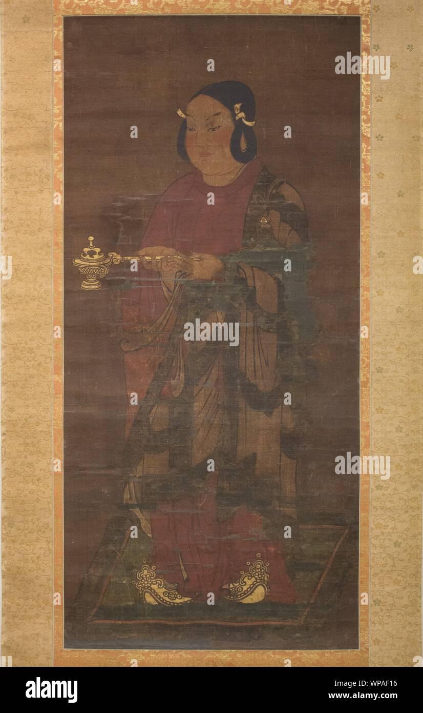 Prince Shotoku sixteen-year-old discharge of filial duties view Prince Shotoku At Age Sixteen ,14th century.jpg - WPAF16 Stock Photo