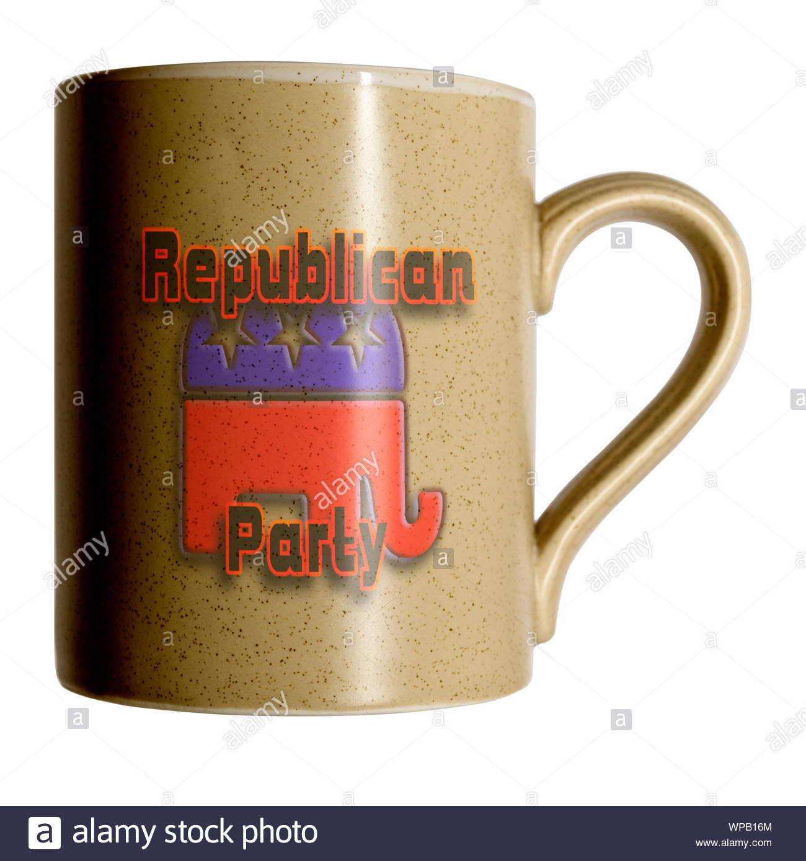 Republican GOP Candidate Hope 2016 Vote President DT Ceramic White Coffee Mug