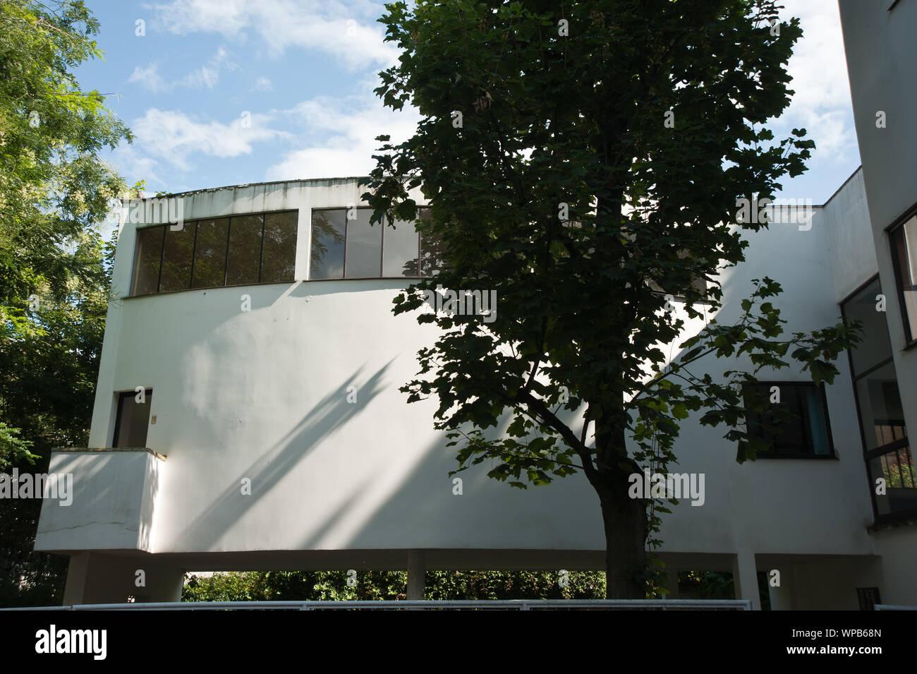 Paris, Le Corbusier, Maison La Roche, 1923/1925, Square du Docteur Blanche, 75016 Stock Photo